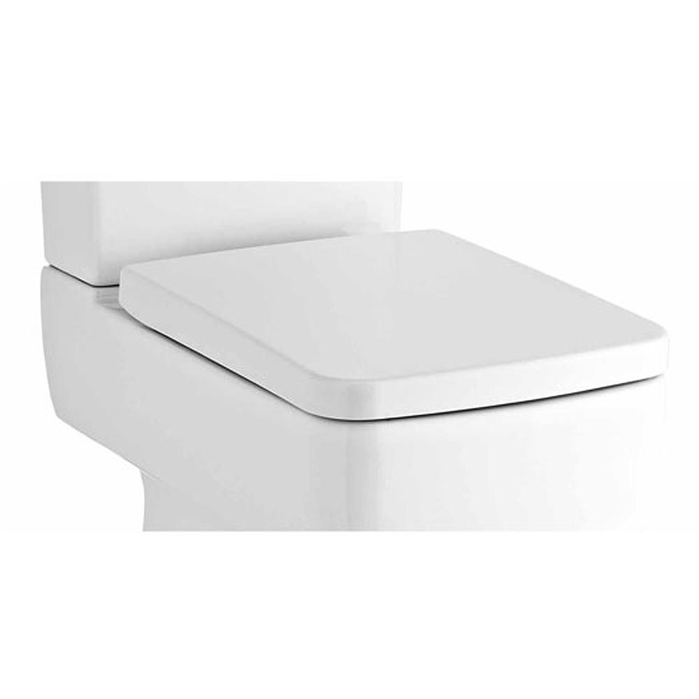 Premium Square Soft Close Toilet Seat With Quick Release