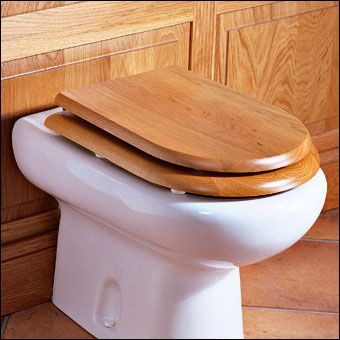 Real Wood Toilet Seats